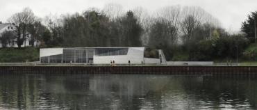 Nuevo Edificio - Vista desde el Río