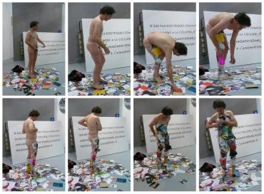 Paolo Angelosanto Performance: Vernissage